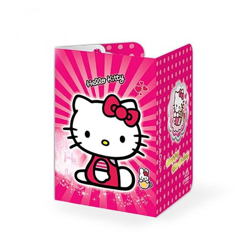 کارت دعوت تم تولد کیتی Kitty مدل STBT610
