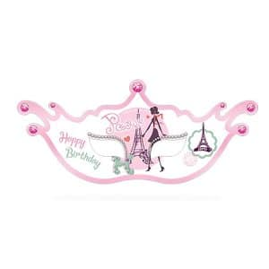 نقاب تولد دختر پاریس