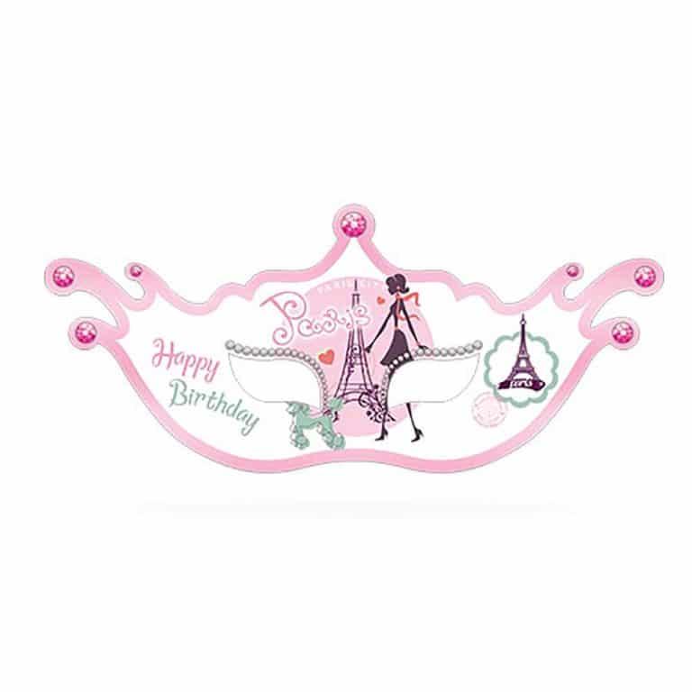 نقاب تم تولد دختر پاریس مدل STBT419