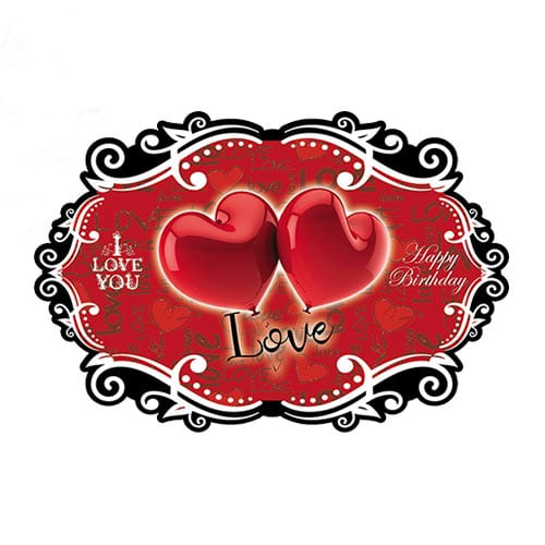 بنر تم قلب Love مدل STBT872