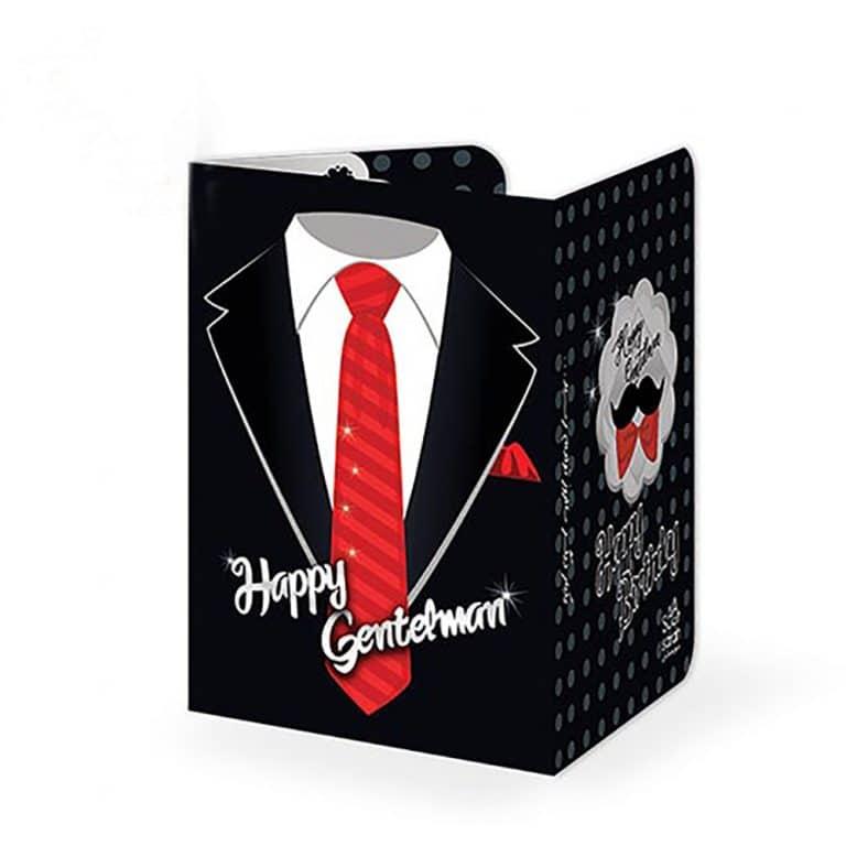 کارت دعوت تم تولد جنتلمن STBT313