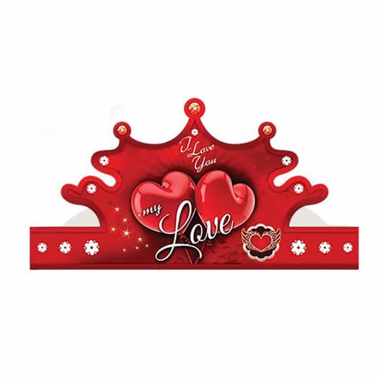 تاج تم قلب Love مدل STBT868