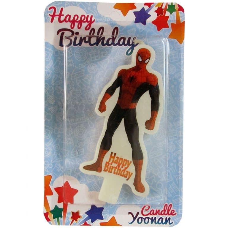 شمع تم تولد مرد عنکبوتی مدل STC236