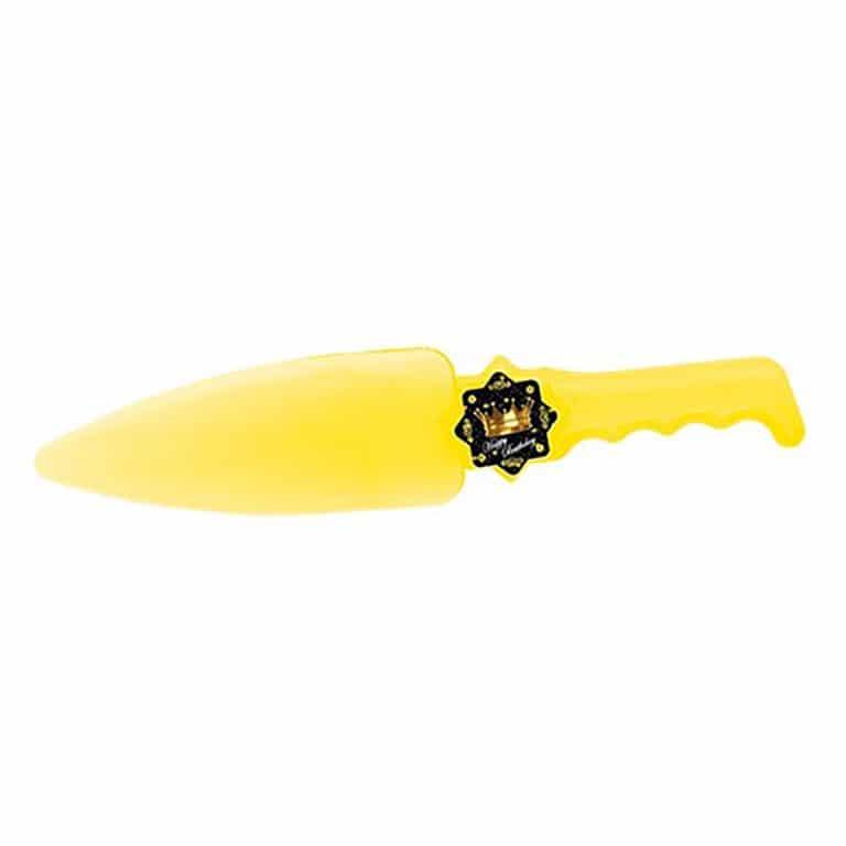 کارد و کفگیر کیک تم تولد تاج طلایی مدل STBT891
