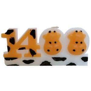 شمع 1400 طرح گاو