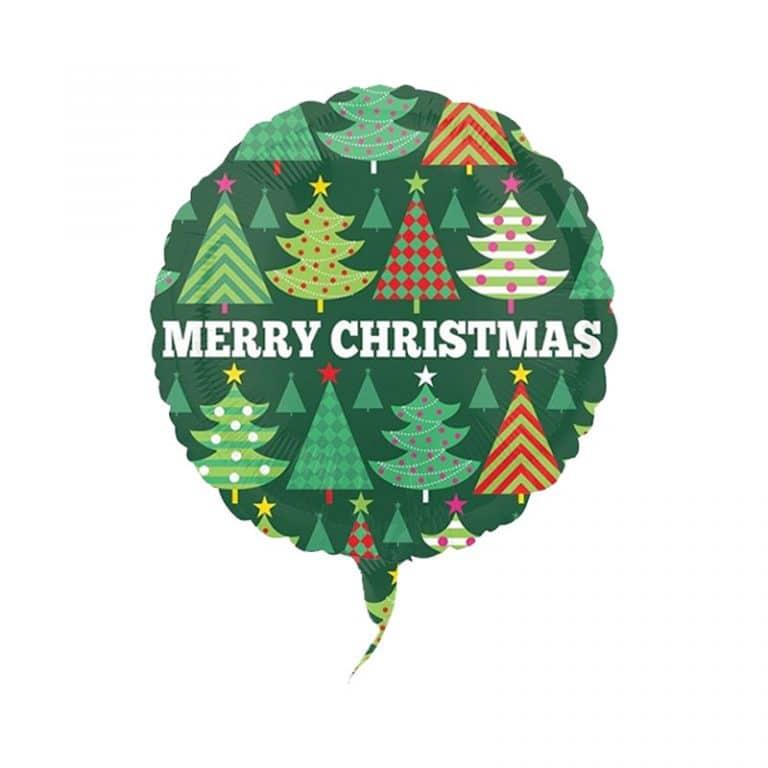 بادکنک فویلی Merry Christmas مدل STCH185