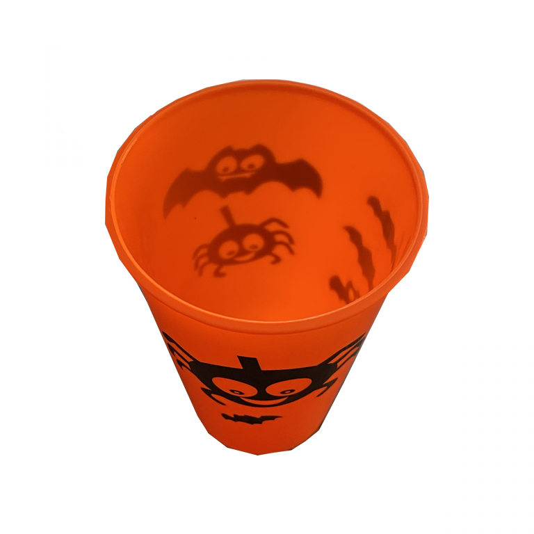 لیوان بلک لایت هالووین بسته ۲ عددی مدل STH193